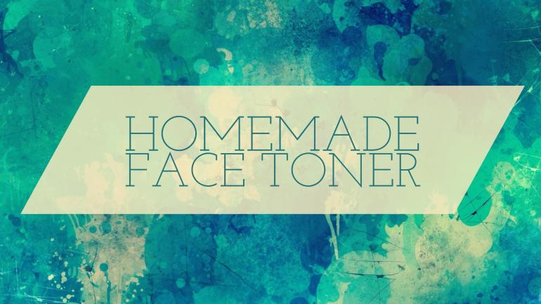 How To Make Homemade Face Toner With Apple Cider Vinegar