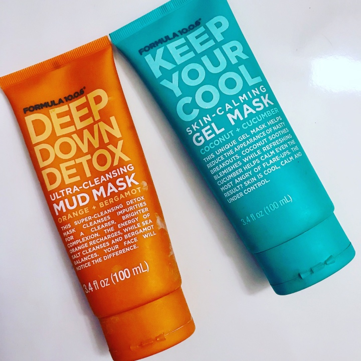 Formula 10.0.6 -Two Great Mask's To Try  Deep Down Detox Mask keep your cool