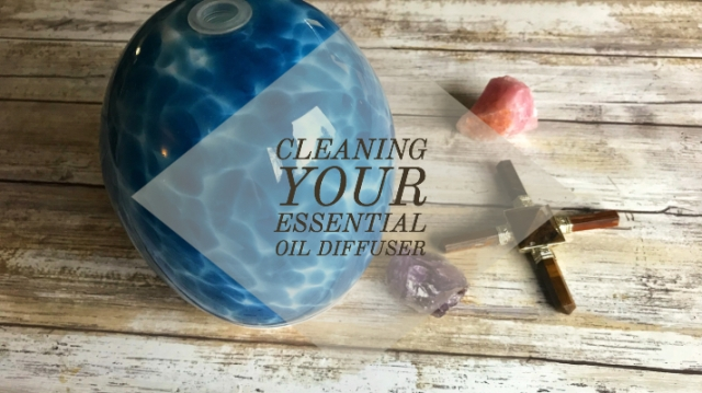 Cleaning your Essential Oil Diffuser – Life by Sunburnt Aloe